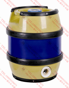 全塑鼓形啤酒桶5L
